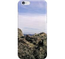 Rocky view of San Francisco iPhone Case/Skin