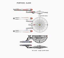 U S S Porthos  Research Class Cruiser Unisex T-Shirt
