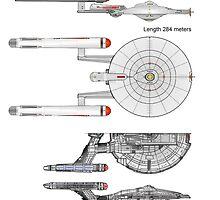 U S S Porthos  Research Class Cruiser by Radwulf