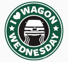 I *heart* Wagon Wed (SB) Kids Tee
