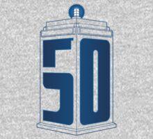 50th Anniversary TARDIS One Piece - Short Sleeve