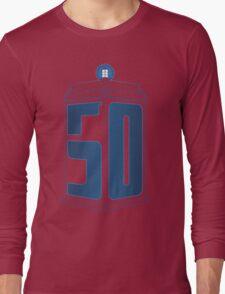 50th Anniversary TARDIS Long Sleeve T-Shirt