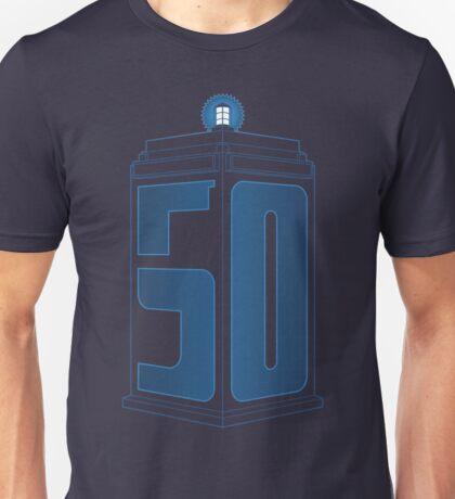 50th Anniversary TARDIS Unisex T-Shirt