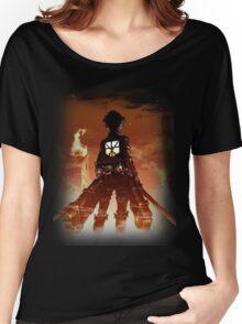 Eren Through the Flames Women's Relaxed Fit T-Shirt