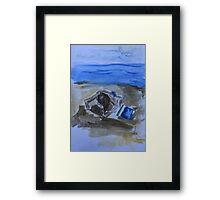 Strandspiel  Framed Print