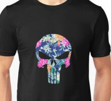 punisher floral Unisex T-Shirt