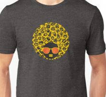 Yellow, robots Unisex T-Shirt