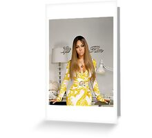 Lil' Kim - The Naked Truth Greeting Card
