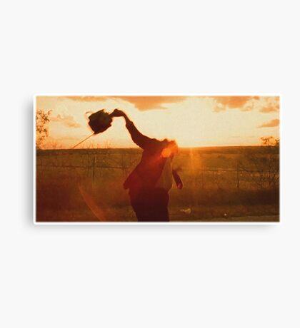 Texas Chainsaw Massacre - Swing Canvas Print