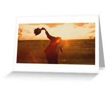 Texas Chainsaw Massacre - Swing Greeting Card