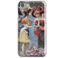Performing Arts Posters Hurly Burly Extravaganza and Refined Vaudeville 0340 iPhone Case/Skin