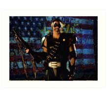 Watchmen - The Comedian Art Print