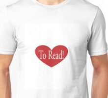 Love to Read Unisex T-Shirt