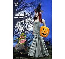 Halloween Night Tale ( 4251  Views) Photographic Print
