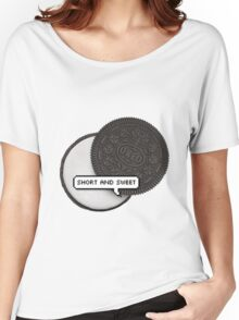 SHORT AND SWEET 2 TUMBLR Women's Relaxed Fit T-Shirt