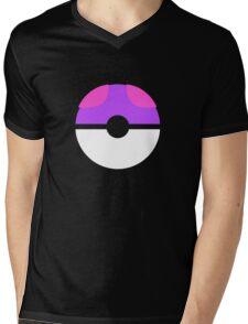 master ball Mens V-Neck T-Shirt