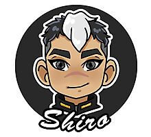 Voltron Legendary Defender Shiro Chibi  Photographic Print