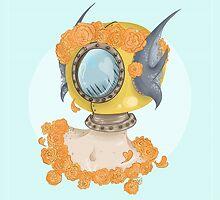 Oreko's Flower Crown by Olivia Dierker