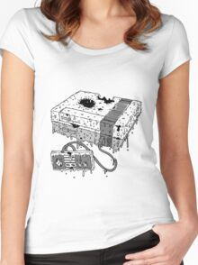 Dead System (Nintendo Entertainment System Women's Fitted Scoop T-Shirt