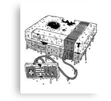Dead System (Nintendo Entertainment System Canvas Print