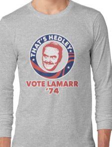VOTE HEDLEY Long Sleeve T-Shirt