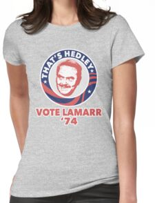 VOTE HEDLEY Womens Fitted T-Shirt
