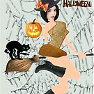 Halloween Greeting (6940  Views) by aldona