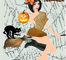 Halloween Greeting (6889  Views) by aldona