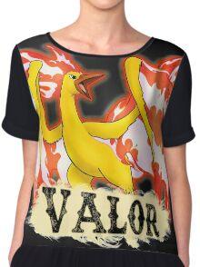 .: Valor - Pokemon Go Team Chiffon Top