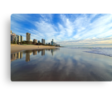 Clouds on the Beach Canvas Print