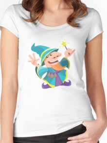 The Dwarf Mage Women's Fitted Scoop T-Shirt