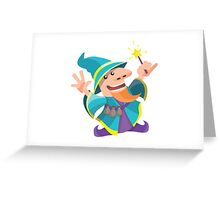 The Dwarf Mage Greeting Card