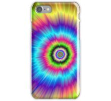 Color Explosion Tie-Dyed iPhone Case/Skin