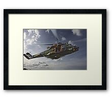 Taipan Multi Role Helicopter Framed Print