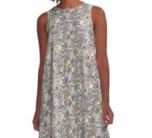 The Prospect of Swirls A-Line Dress