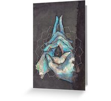 crown chakra mudra  Greeting Card