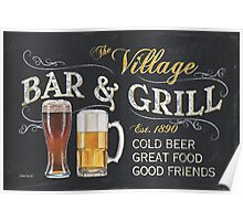 Bar and Grill Poster