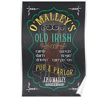 O'Malley's Irish Pub Poster