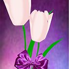 2 Pink Tulips (7464 Views) by aldona