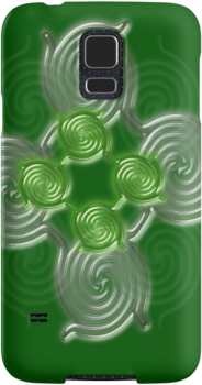 Green Abstract  pattern  (2169 Views) by aldona