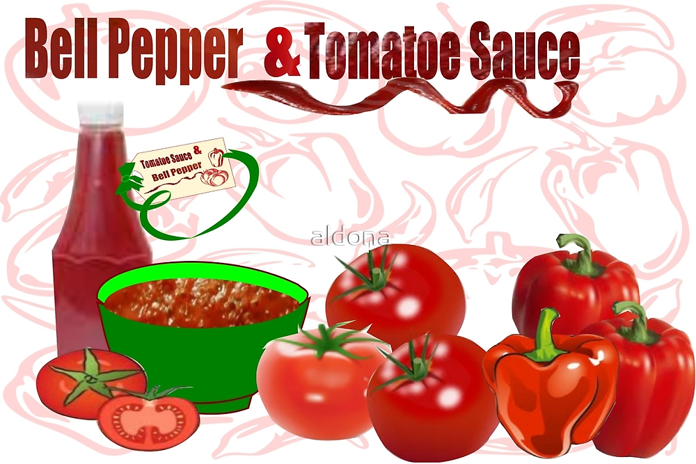 Bell Pepper & Tomato Sauce (3831 Views) by aldona