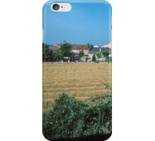 Farm Complex From Train nr Montselece Po Valley Italy 19840726 0001 iPhone Case/Skin