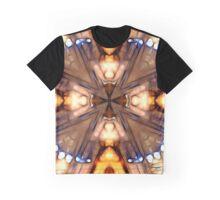 Digital Tie-Dye Graphic T-Shirt