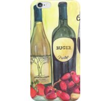 Watercolor Wine iPhone Case/Skin