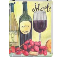Watercolor Wine iPad Case/Skin