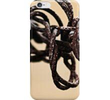Crazy Kinda Barbed Wire iPhone Case/Skin