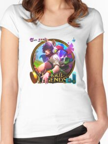 Arcade Ahri Women's Fitted Scoop T-Shirt