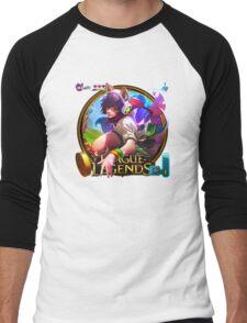 Arcade Ahri Men's Baseball ¾ T-Shirt