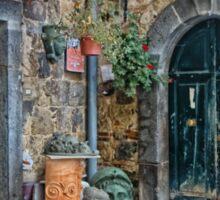 Bolsena Potter Shop   Italy Sticker