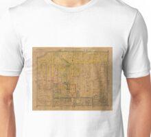Map Of Peking 1850 Unisex T-Shirt
